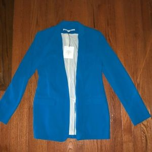 *NWT* DVF Vint Candy Crepe Jacket